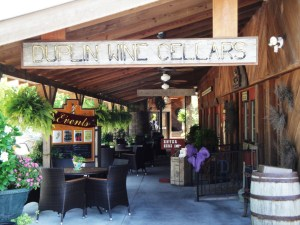 Entrance to Duplin Wine Cellars