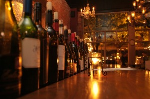 Wine Bar at night