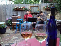 visible voice patio and wine