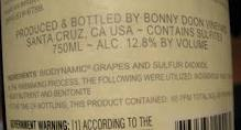 label ingredients