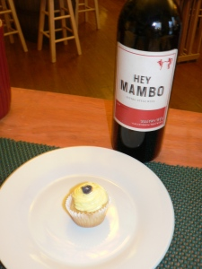 Hey Mambo and a cupcake