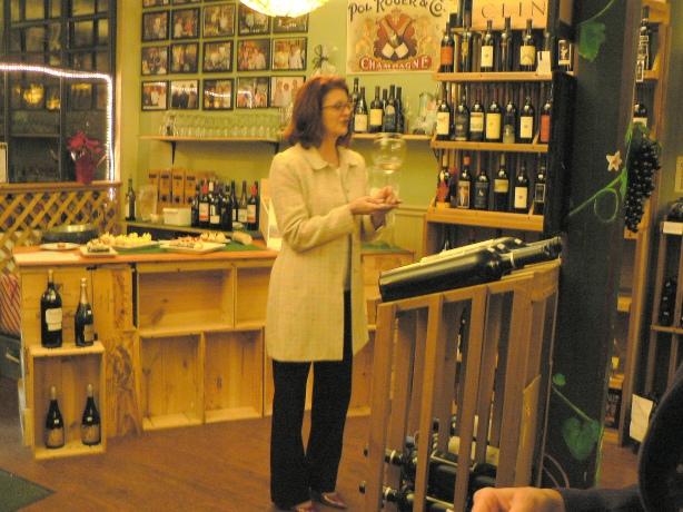 Olde Wine Cellar Tasting