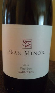 Sean Minor Carneros 2010 Pinot Noir