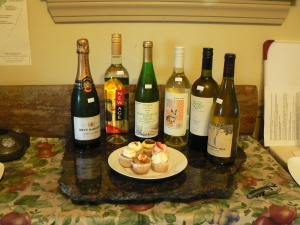 Wine and Cupcakes Selection